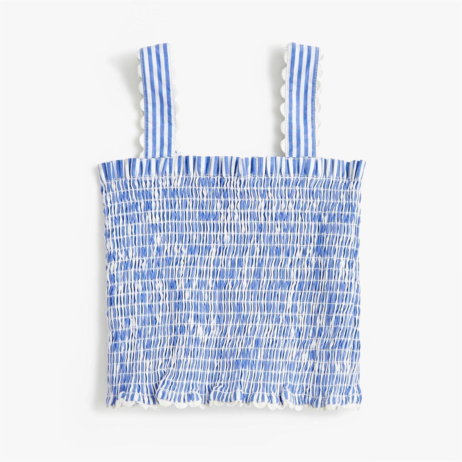 Loeffler Randall® by Clementine X Girls' crewcuts smocked tank top
