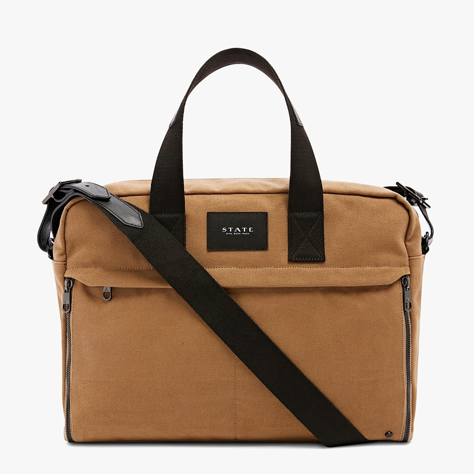 STATE Bags Preston cotton canvas backpack