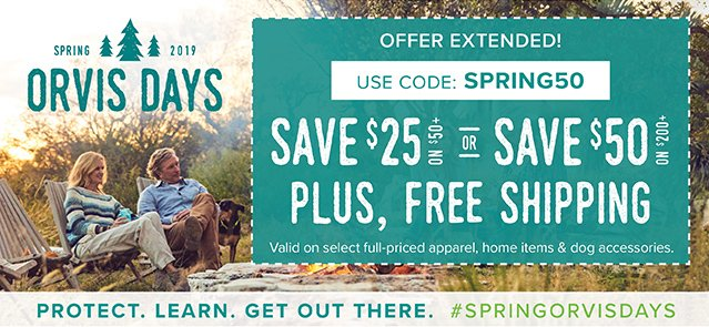 35a92f9f Orvis: Extended! Save up to $50, shipped free!