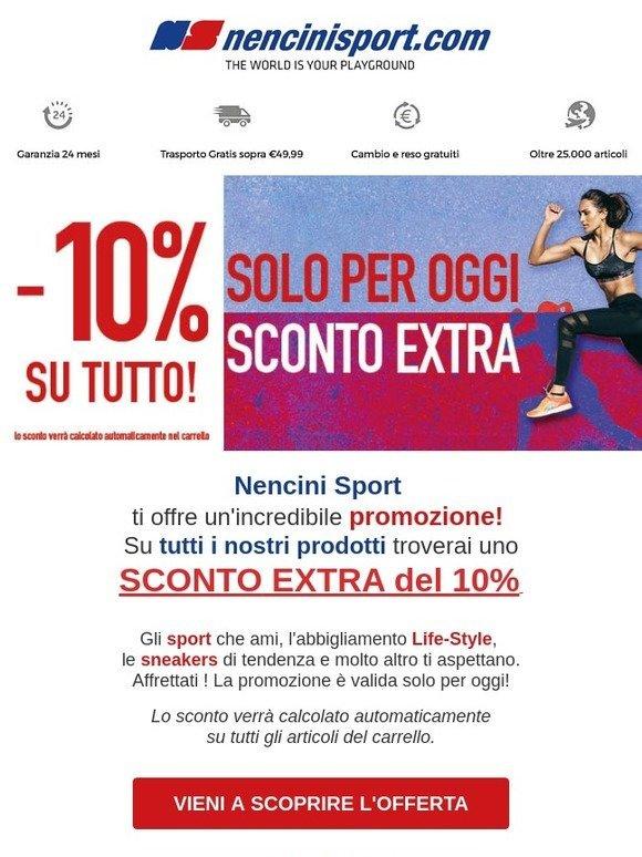 Sconto Nencini Sport 10milled Flj1ck Itnencini Extra ONvm0n8w