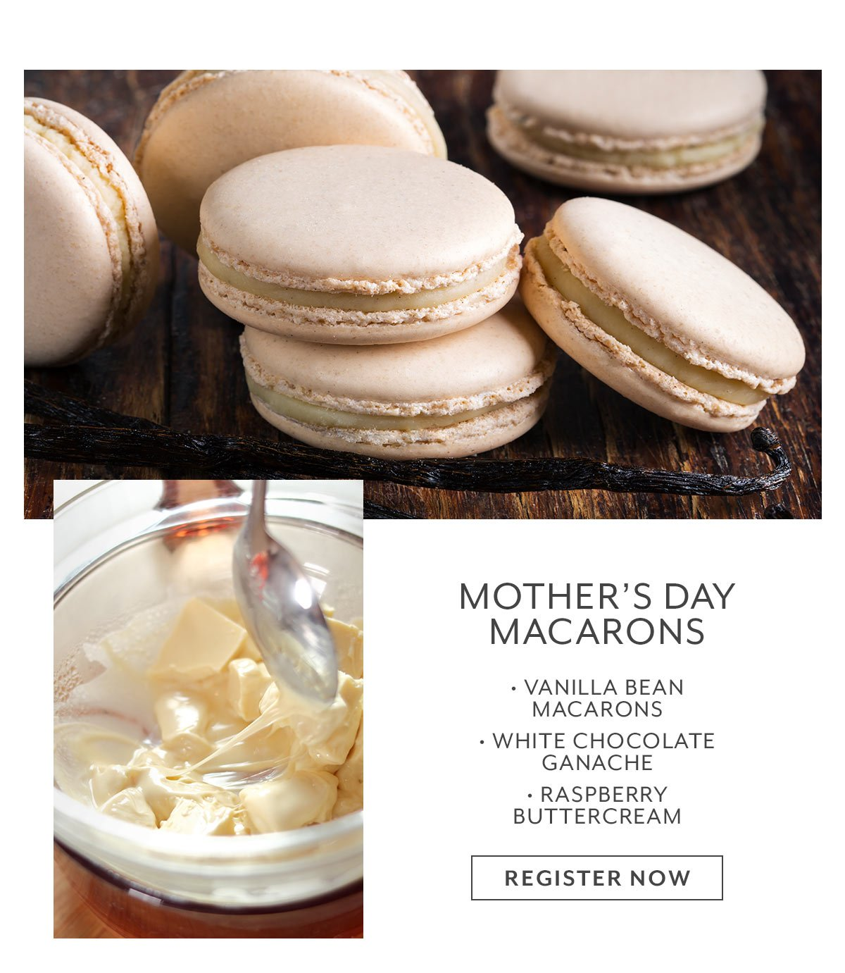 Class: Mother's Day Macarons