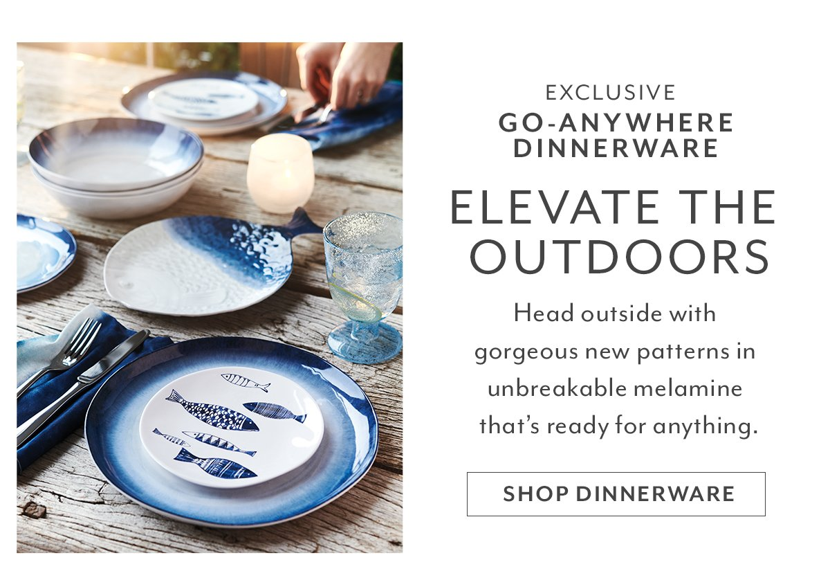 Outdoor Dinnerware