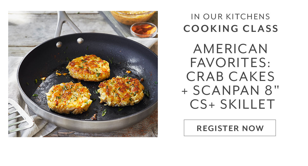 American Favorites: Crab Cake