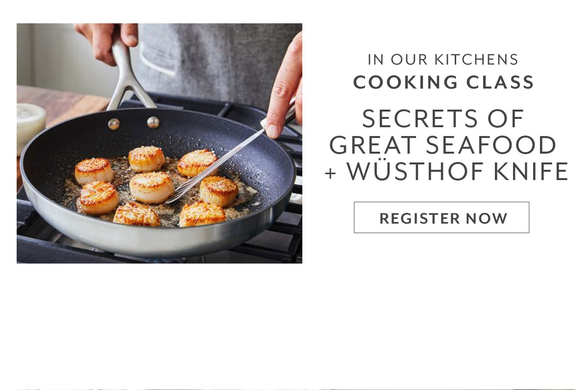 Secrets of Cooking Great Seafood