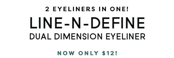 2 Eyeliners in One!