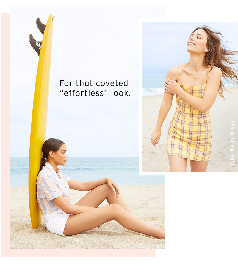 """For that coveted """"effortless"""" look."""
