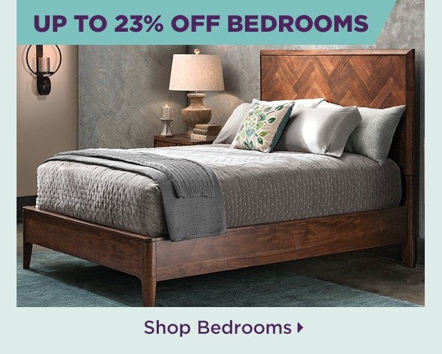 Up to 23% Off Bedrooms
