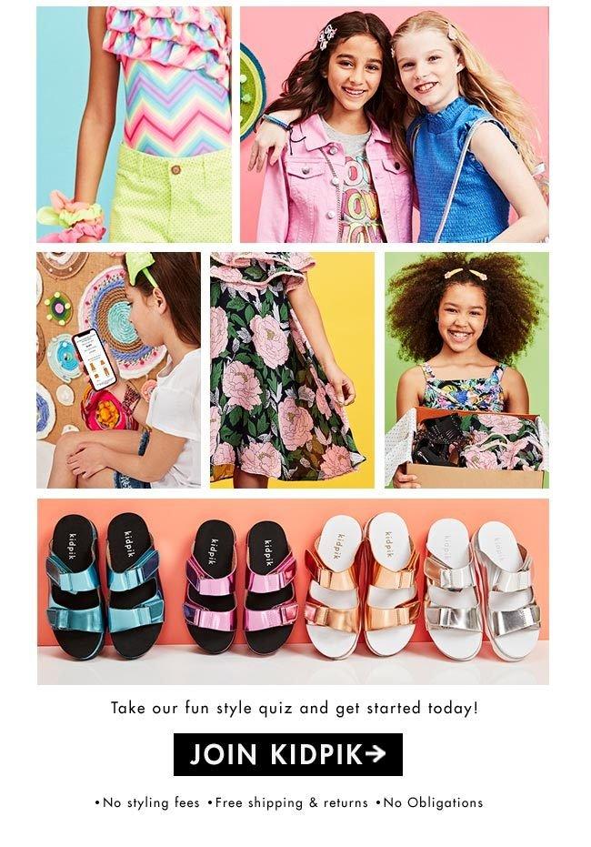 kidpik fashion box for girls