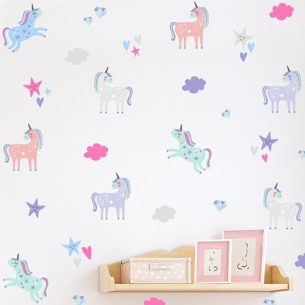 Image of Unicorn Dreams Decal Set