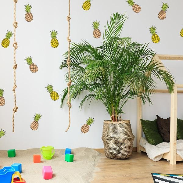 Image of Pineapple Wall Decals