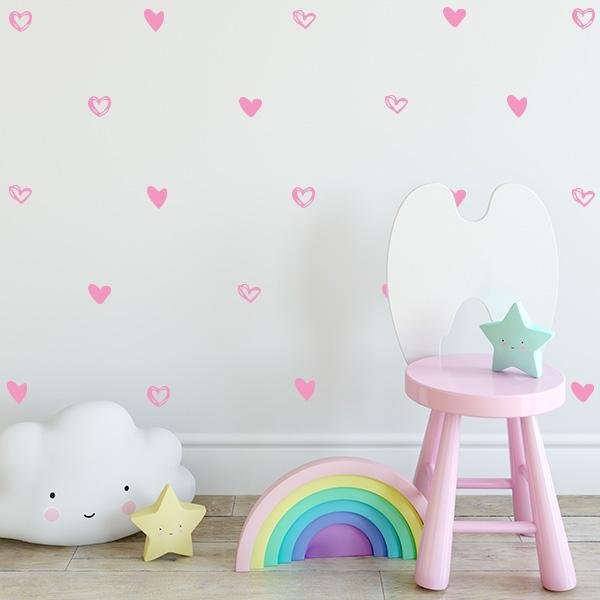 Image of Free Love Wall Decals