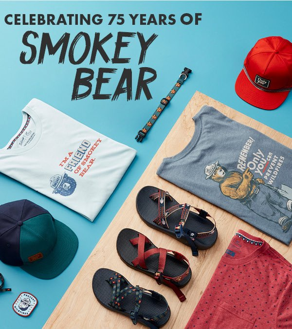 Chaco: New Smokey Bear Sandals and Gear
