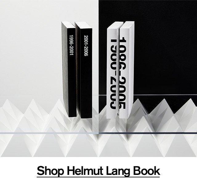 Shop Helmut Lang Book