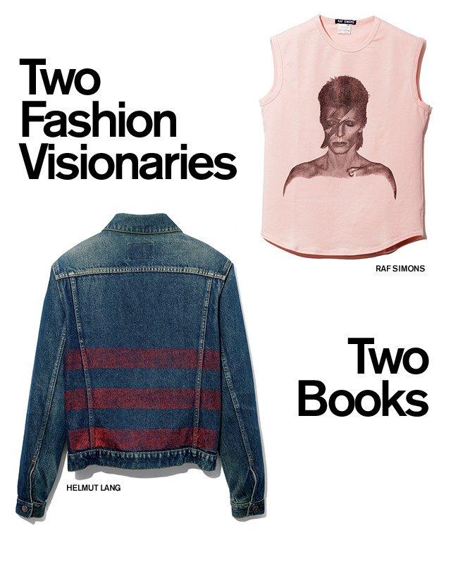 Two Fashion Visionaries | Two Books