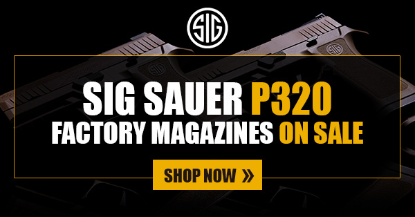 GunMag Warehouse: SALE: Sig Sauer P320 Factory Magazines On Sale