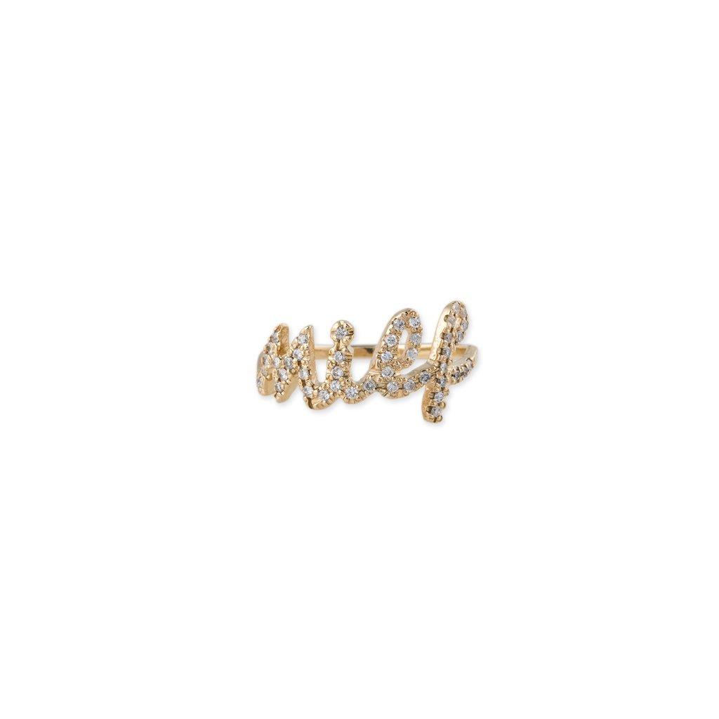 Image of PAVE DIAMOND MILF RING