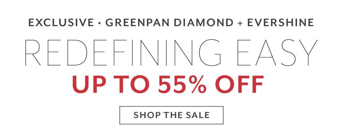 Greenpan Diamond + Evershine Up to 55% Off