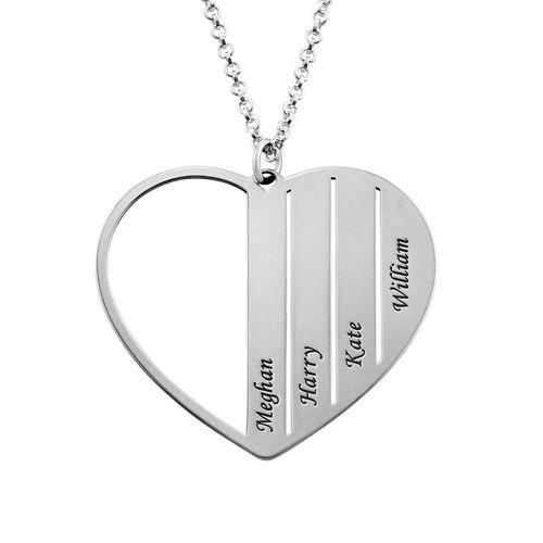 Herzkette für Mama aus Sterlingsilber