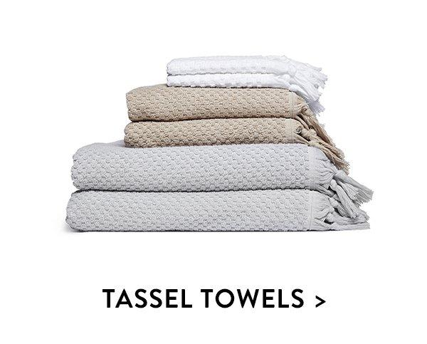 Tassel Towels