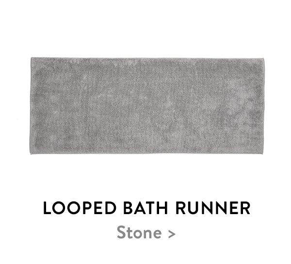 Looped Bath Runner
