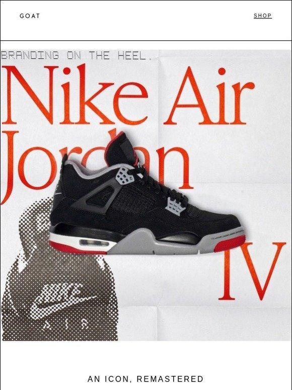 Air Jordan 4 Retro 'Bred