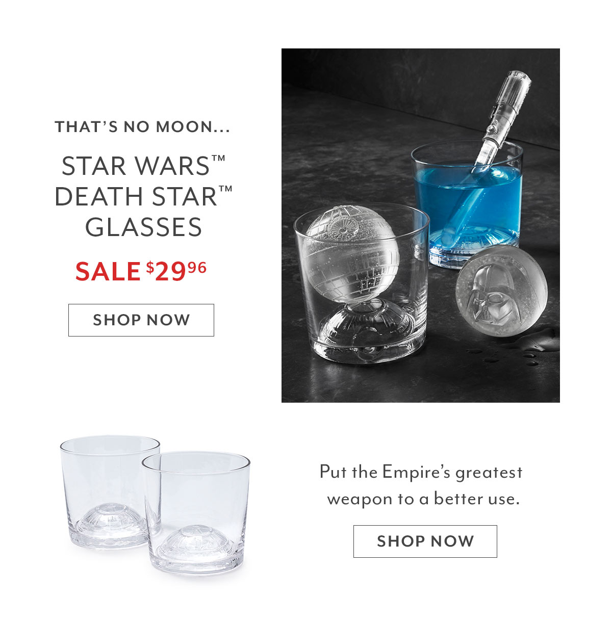 Star Wars™ Death Star™ Glasses