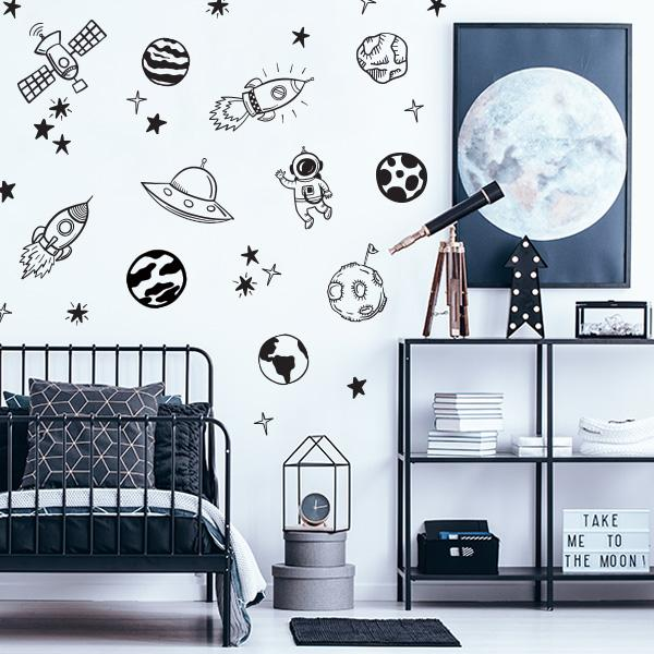 Image of Out of this World Decal Set