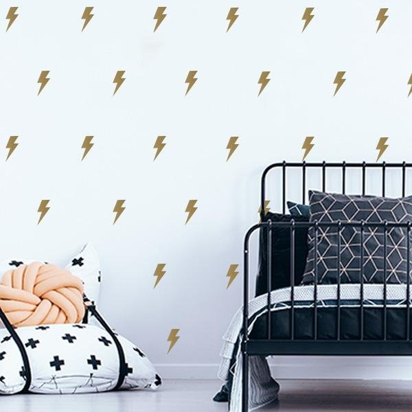 Image of Lightning Bolt Wall Decals