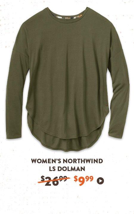 Women's Northwind LS Dolman