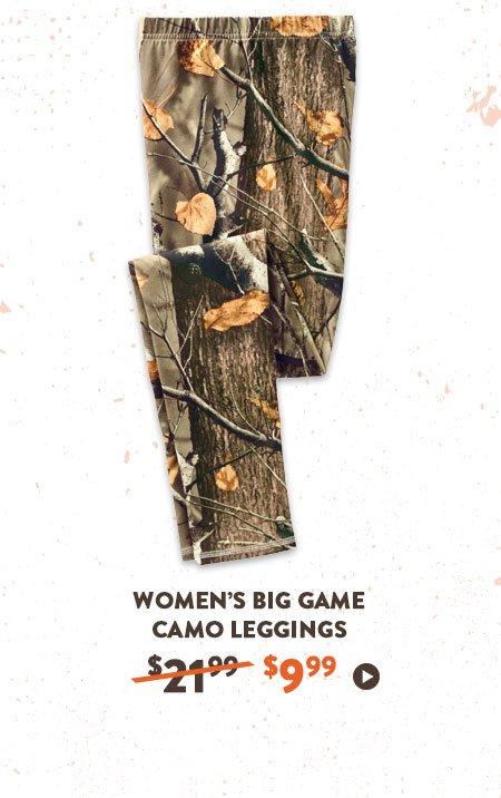 Women's Big Game Camo Leggings