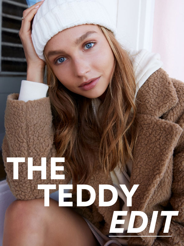 The Teddy Edit. Shop Now.