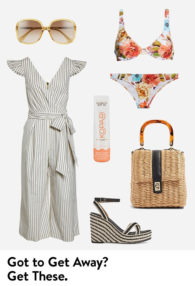 Got to get away? Get these vacation essentials for women.