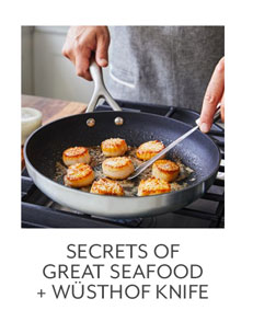 Class: Secrets of Great Seafood + Wüsthof Knife