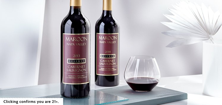 93-Point Napa Valley Cabernet Sauvignon From Maroon Wines