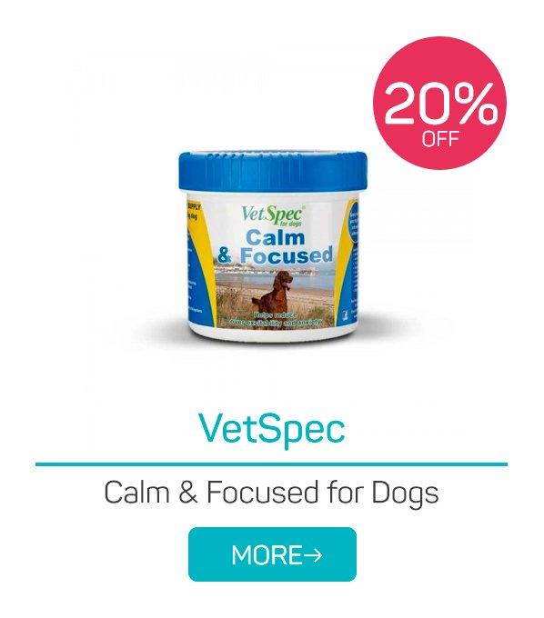 VetSpec Calm & Focused for Dogs