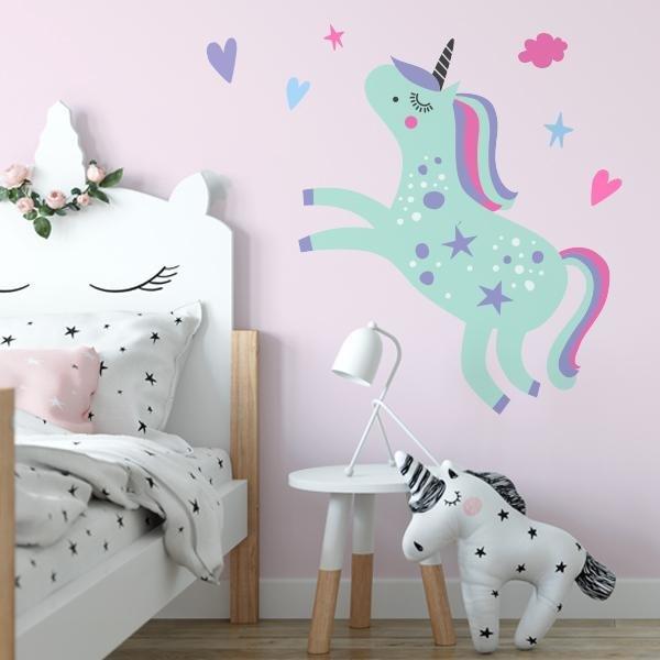 Image of Large Unicorn Dreams Decal Set