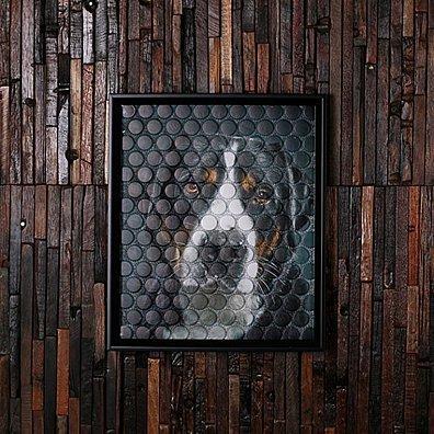BeerCap Prints Beer Cap Art, Personalized Gifts, Custom Pet Portrait, Wall Art, Beer Signs