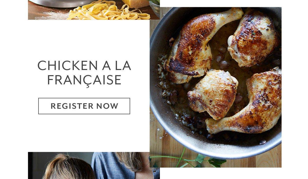 Chicken a la Française