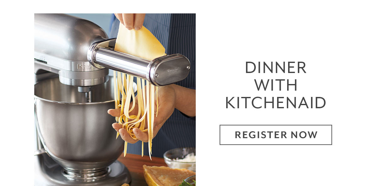 Dinner with KitchenAid