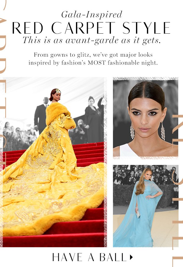 Red CarpetInspired Style  Look gala-glam.