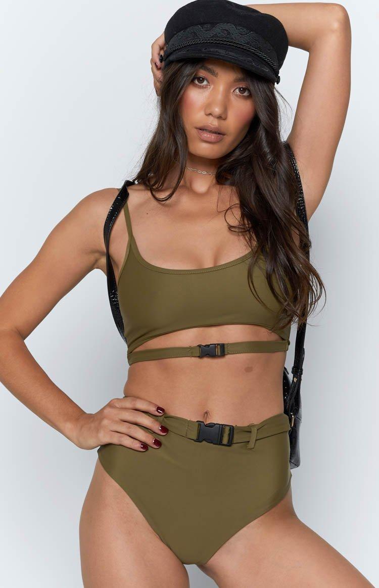 Fecilia Bikini Set Khaki
