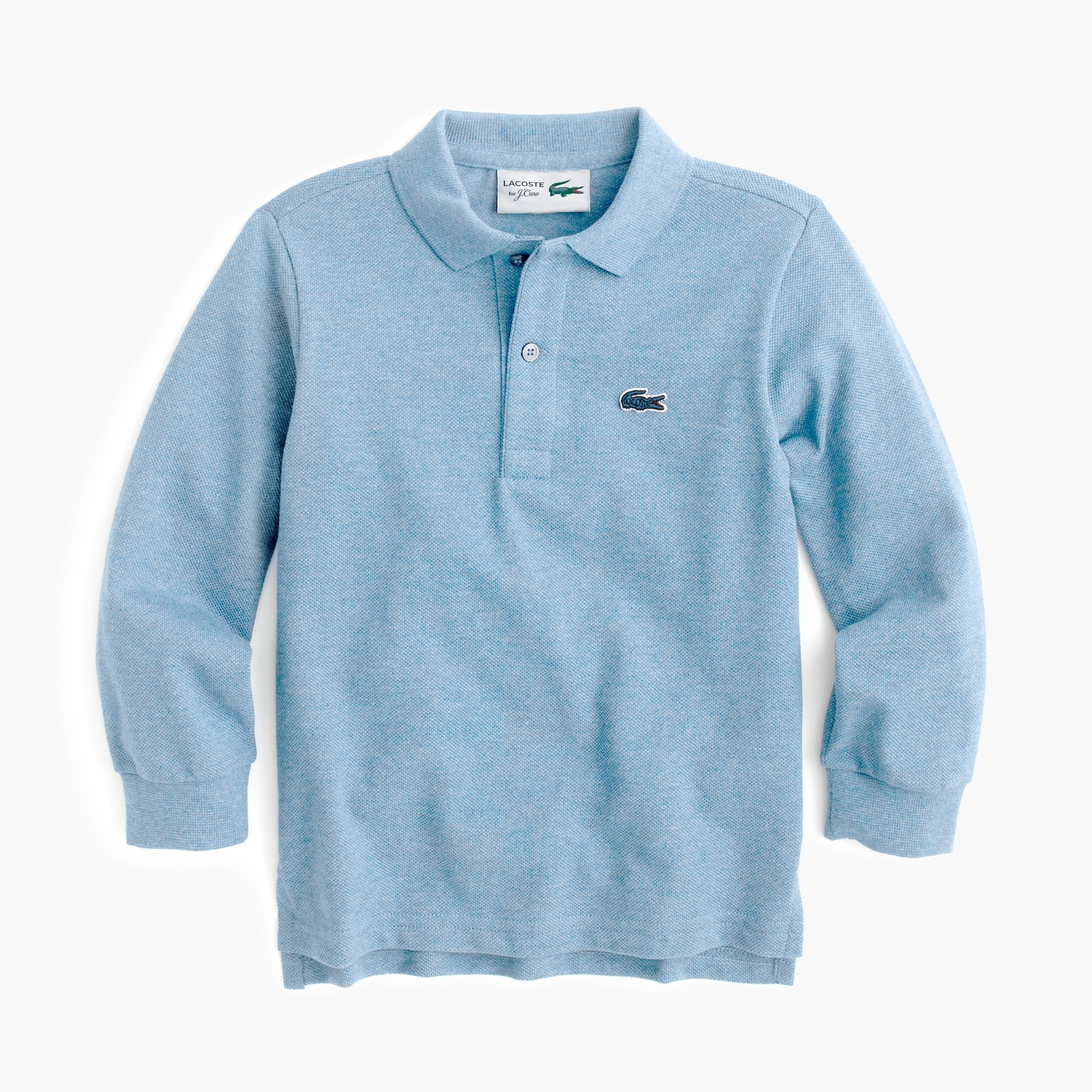 Kids' Lacoste for J.Crew long-sleeve polo shirt