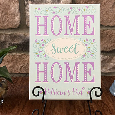 Personalized Home Sweet Home Signs