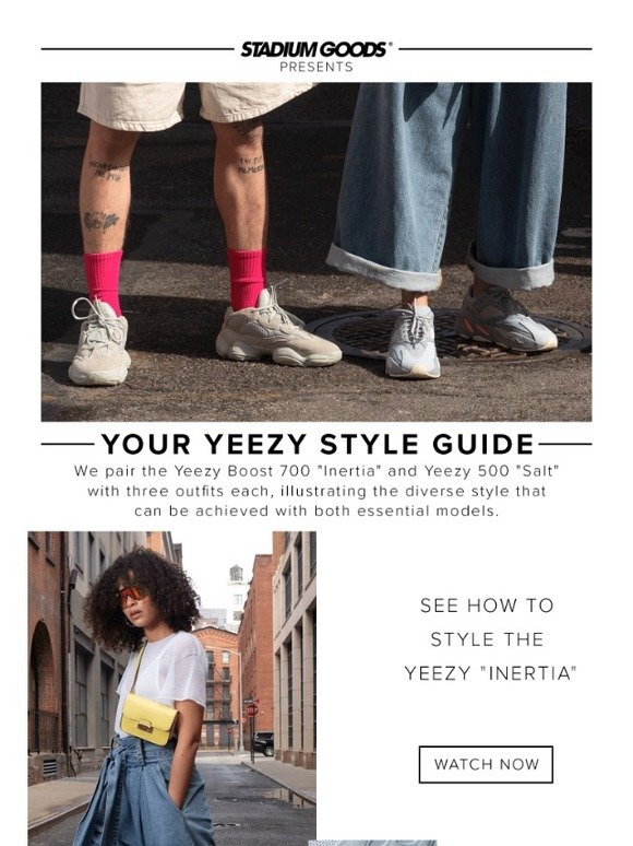Stadium Goods Shows You How to Wear Your YEEZYS