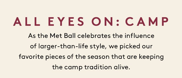 Ahead of tonight's Met Ball, learn more about the style.