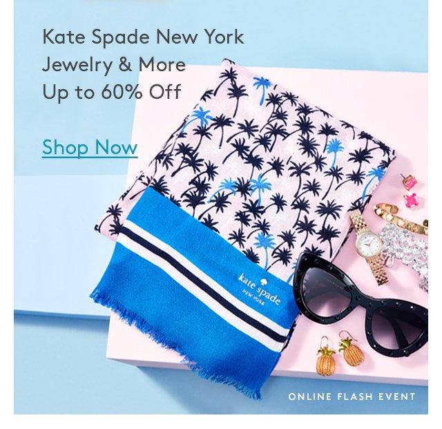 Kate Spade New York Jewelry & More | Up to 60% Off | Shop Now | Online Flash Event