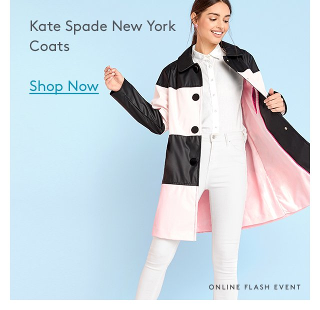Kate Spade New York Coats | Shop Now | Online Flash Event