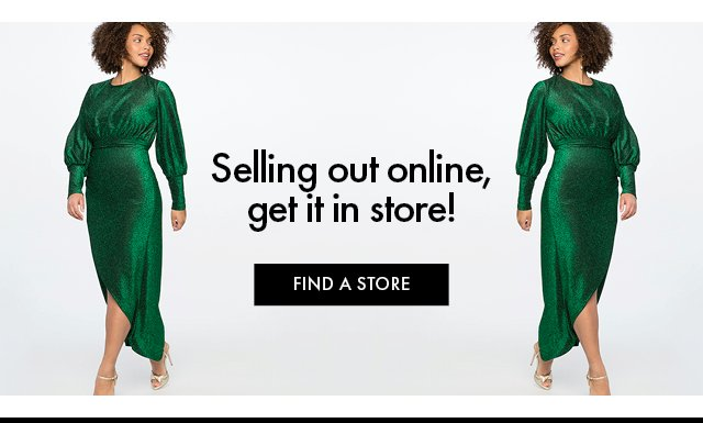 Green Dress in store bb