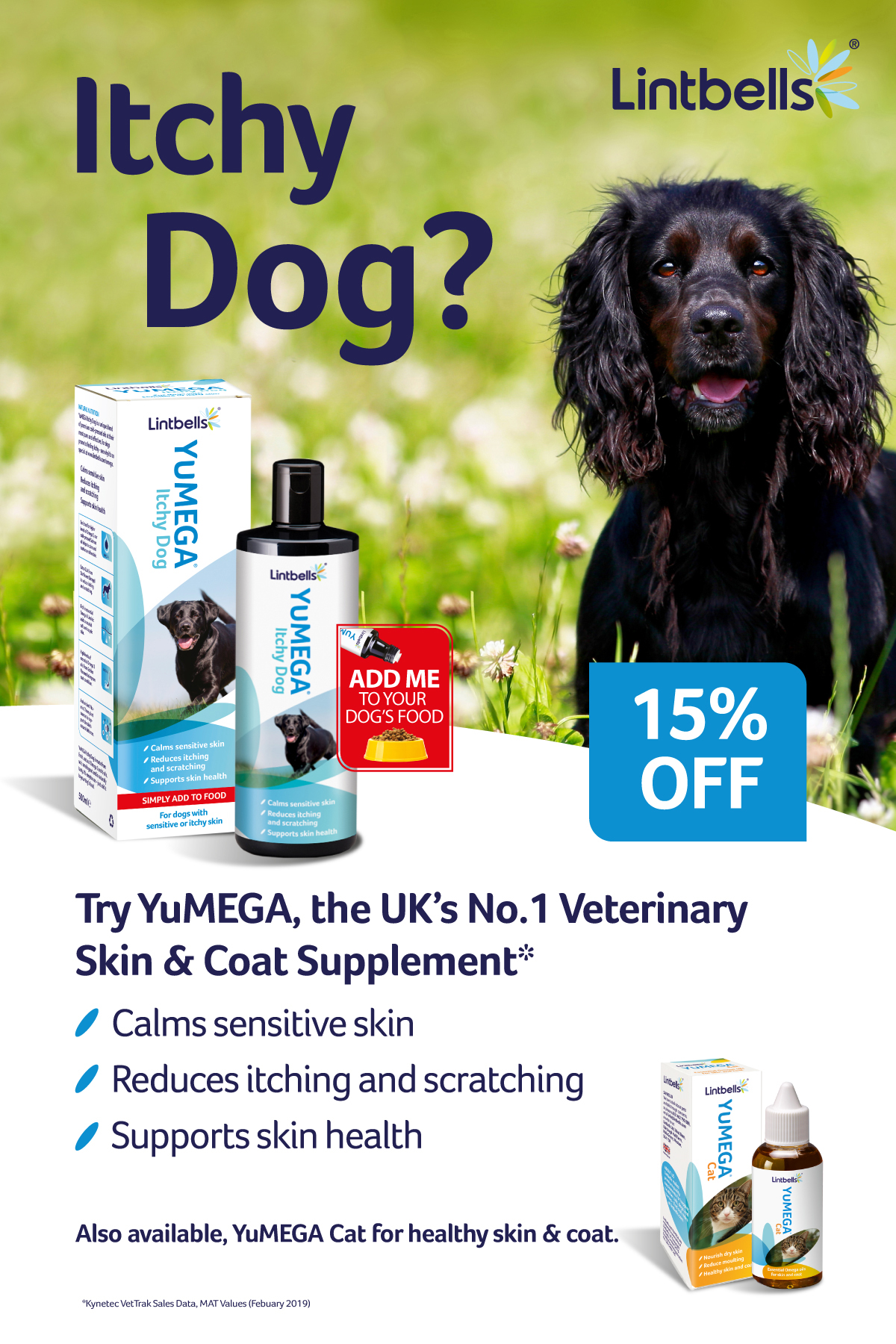 Itchy Dog? 15% off