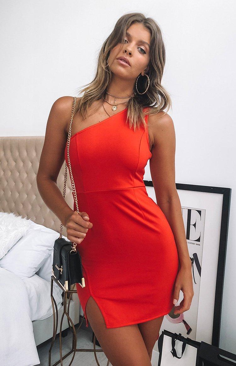 Freya Dress Red